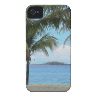 Oil Painting Nassau Bahamas iPhone 4 Cases