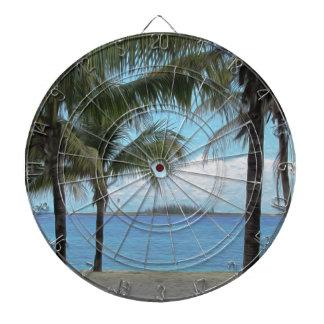 Oil Painting Nassau Bahamas Dartboard