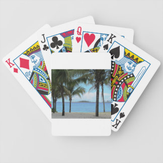 Oil Painting Nassau Bahamas Bicycle Playing Cards