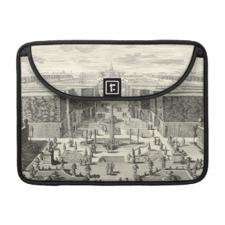 Oil Painting of Fountains at Garden of Versailles MacBook Pro Sleeve