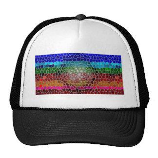 oil painting, original modern,  abstract, fine art trucker hat
