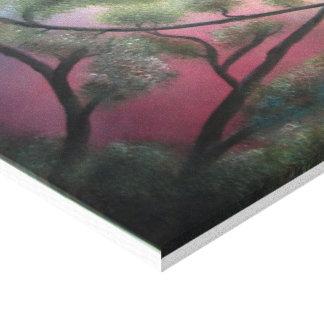 "Oil Painting Print On Canvas ""Loving Birds """