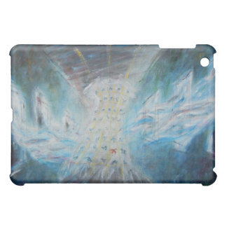 "Oil Painting ""White Dress with Birds"" iPad Case"
