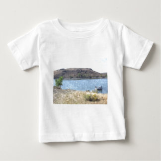 Oil Painting with Lake Baby T-Shirt