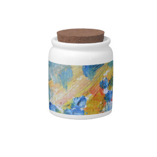 oil-paints candy jar