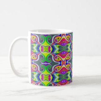 Oil Pastel Abstract Coffee Mug | Rainbow Splash