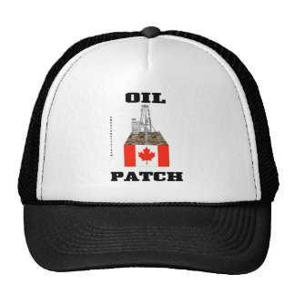 Oil Patch Canada,Oil Field Hat,Cap,Gift,Oil,Rig,