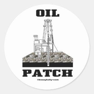 Oil Patch, Oil Field Sticker