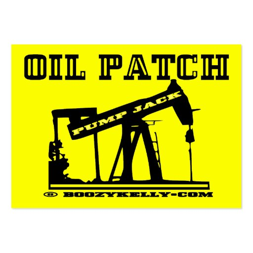 Oil Patch Pump Jack Business Cards,Pack Of 100 Large Business Cards (Pack Of 100)