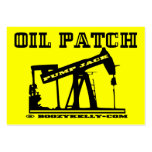 Oil Patch Pump Jack Business Cards,Pack Of 100
