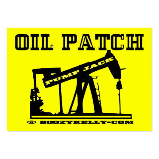 Oil Patch Pump Jack Business Cards,Pack Of 100 Large Business Card