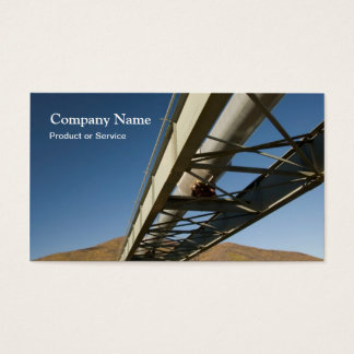 Oil pipeline business card
