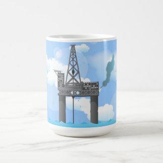 Oil Platform Coffee Mug
