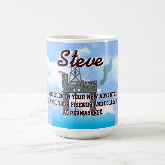 Oil Platform Classic White Coffee Mug