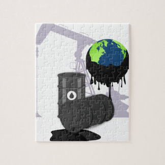 Oil Pollution Jigsaw Puzzle