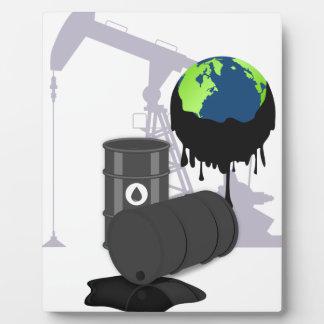 Oil Pollution Plaque