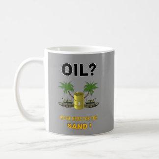 OIL PROSPECTORS CLASSIC WHITE COFFEE MUG