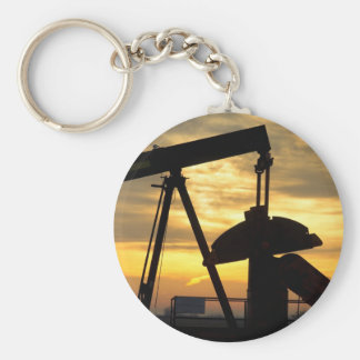 Oil Pump Sunrise Keychains