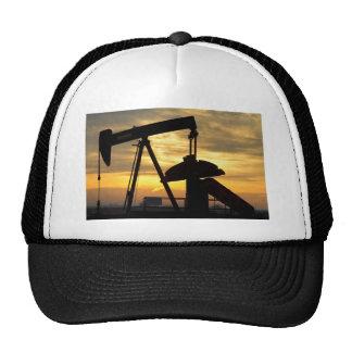 Oil Pump Sunrise Trucker Hat