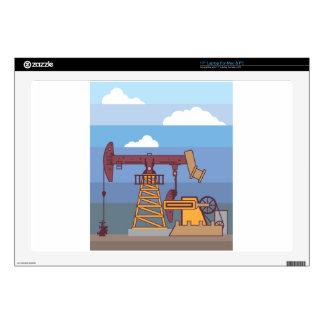 "Oil Pumping Rig 17"" Laptop Skins"