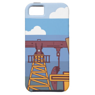 Oil Pumping Rig iPhone SE/5/5s Case