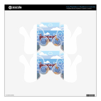Oil Pumping Rig PS3 Controller Decals