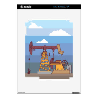 Oil Pumping Rig Skin For iPad 2