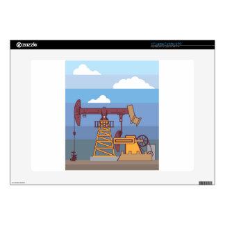 "Oil Pumping Rig Skins For 15"" Laptops"