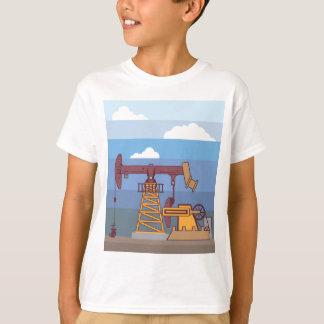 Oil Pumping Rig T-Shirt
