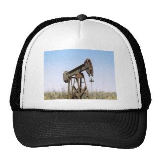 Oil Pumping Rig Trucker Hat