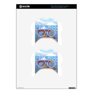 Oil Pumping Rig Xbox 360 Controller Skin
