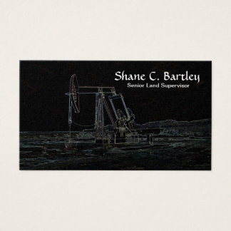 Oil Pumping Unit Business Card