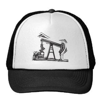 Oil Pumpjack Trucker Hat