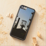 Oil Refinery Carved Maple iPhone 6 Bumper Case