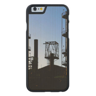 Oil Refinery Carved Maple iPhone 6 Case