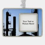 Oil Refinery Christmas Ornament