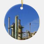 Oil Refinery Christmas Tree Ornaments