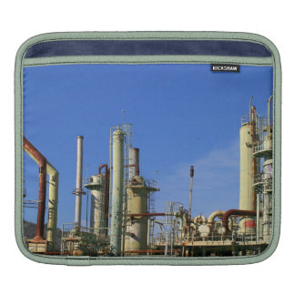 Oil Refinery iPad Sleeves