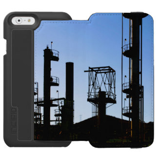 Oil Refinery iPhone 6/6s Wallet Case