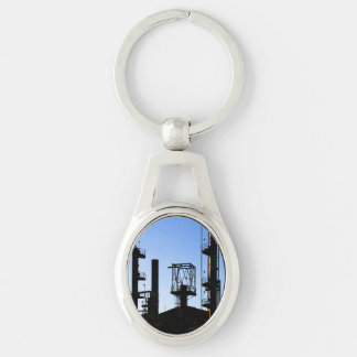 Oil Refinery Keychain
