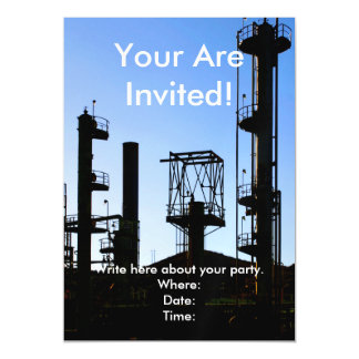 Oil Refinery Magnetic Card