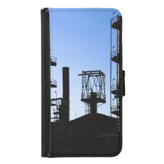 Oil Refinery Samsung Galaxy S5 Wallet Case