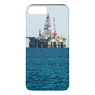 Oil Rig At Sea iPhone 7 Plus Case
