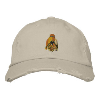 Oil Rig Drilling Bit Embroidered Baseball Hat