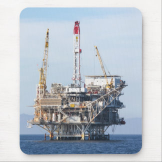 Oil Rig Mouse Pad