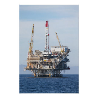 Oil Rig Posters