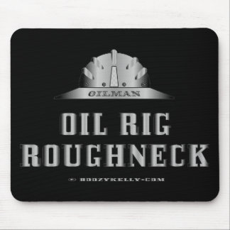 Oil Rig Roughneck,Oil Field Mousepad,Drill Crew Mouse Pad