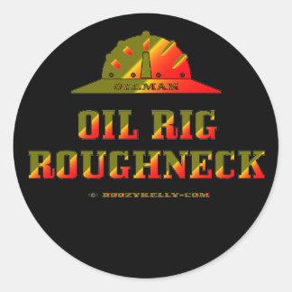 Oil Rig Roughneck,Oil Field Sticker,Hard Hat,Oil