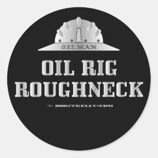 Oil Rig Roughneck,Sticker,Drilling,Derrick,Gift