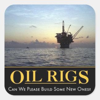 Oil Rig Sticker Oil Gas Hard Hat Sticker